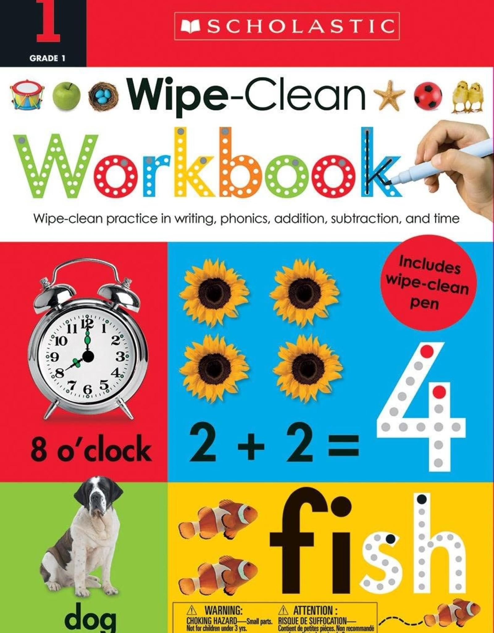 Scholastic Wipe Clean Workbook Grade 1