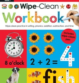 Scholastic Wipe Clean Workbook Grade 1