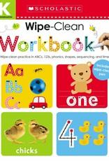 Scholastic Wipe Clean Workbook Kindergarten