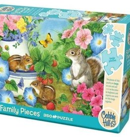 Cobble Hill Puzzles Chippy Chappies - 350 piece puzzle - Family