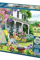 Cobble Hill Puzzles Spring Cleaning - 500 Piece Puzzle