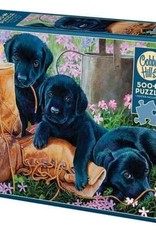 Cobble Hill Puzzles Trouble in the Garden - 500 piece Puzzle