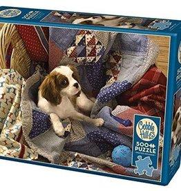 Cobble Hill Puzzles Laundry Day - 500 piece Puzzle
