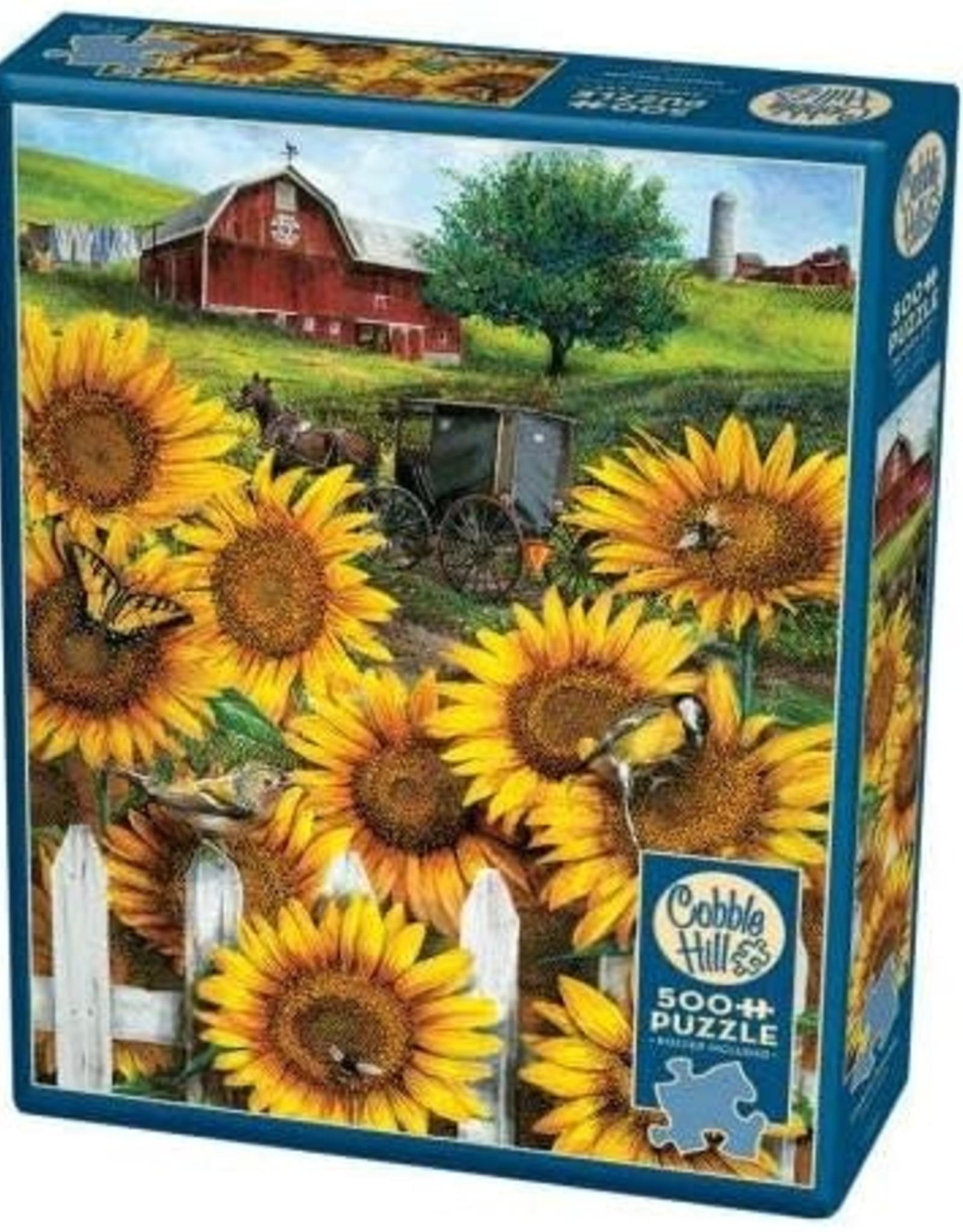 Cobble Hill Puzzles Country Paradise - 500 piece puzzle