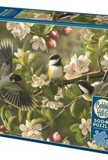 Cobble Hill Puzzles Chickadeedeedees 500 piece puzzle