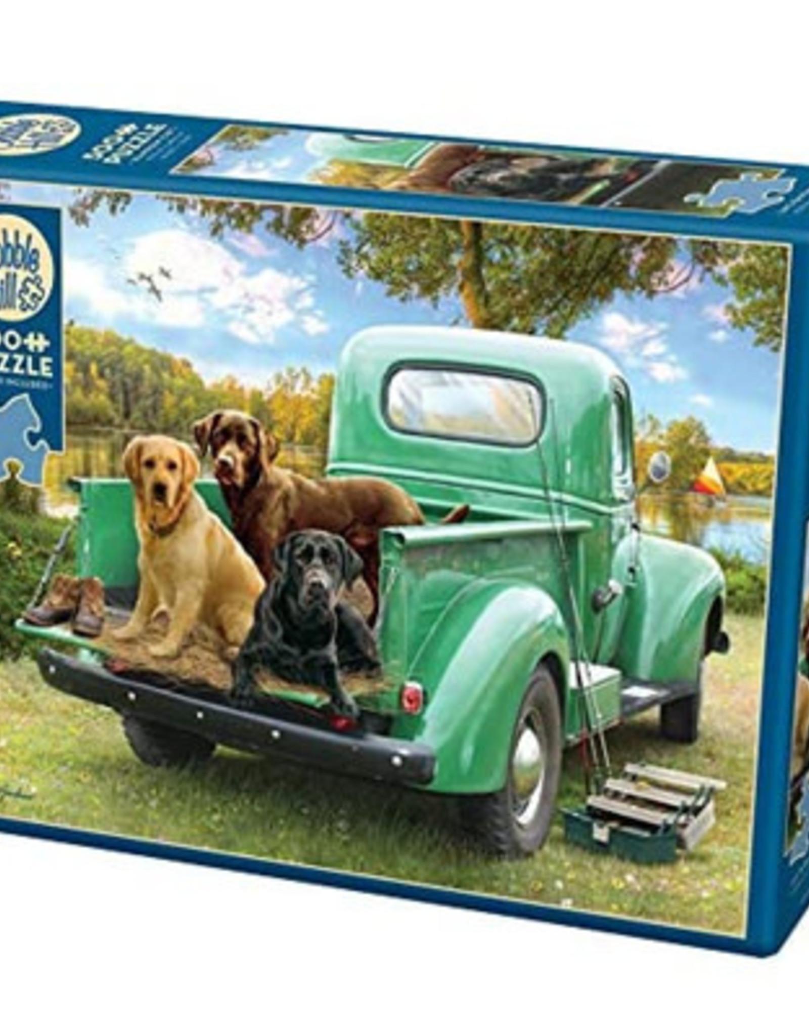 Cobble Hill Puzzles Let's Go Fishing - 500 piece puzzle