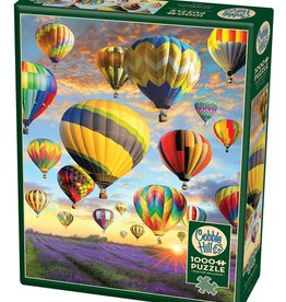 Cobble Hill Puzzles Hot Air Balloons - 1000 piece puzzle