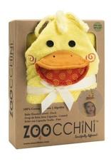 Zoocchini Baby Hooded Towel - Duck