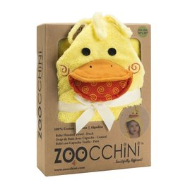 Zoocchini Baby Hooded Towel - Duck