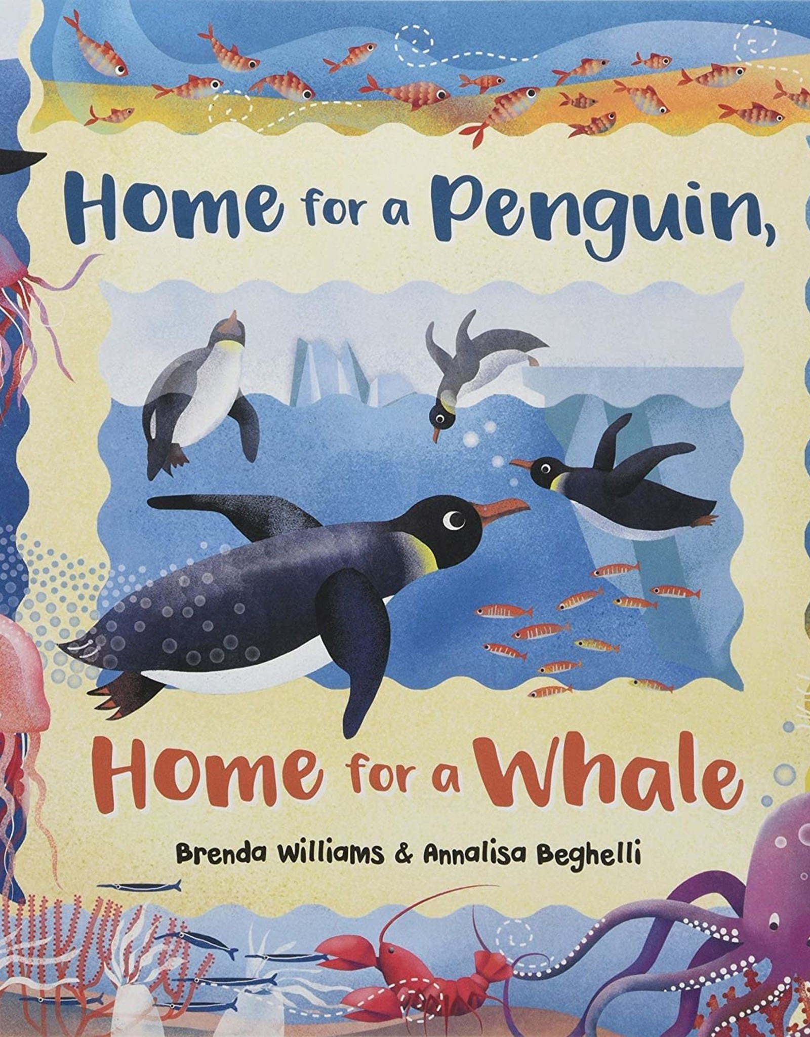 Barefoot Books Home for a Penguin, Home for a Whale