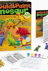 4M Glow in the Dark Dinosaur Mould & Paint Kit 3