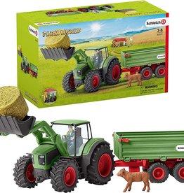 Schleich Schleich Tractor with Trailer
