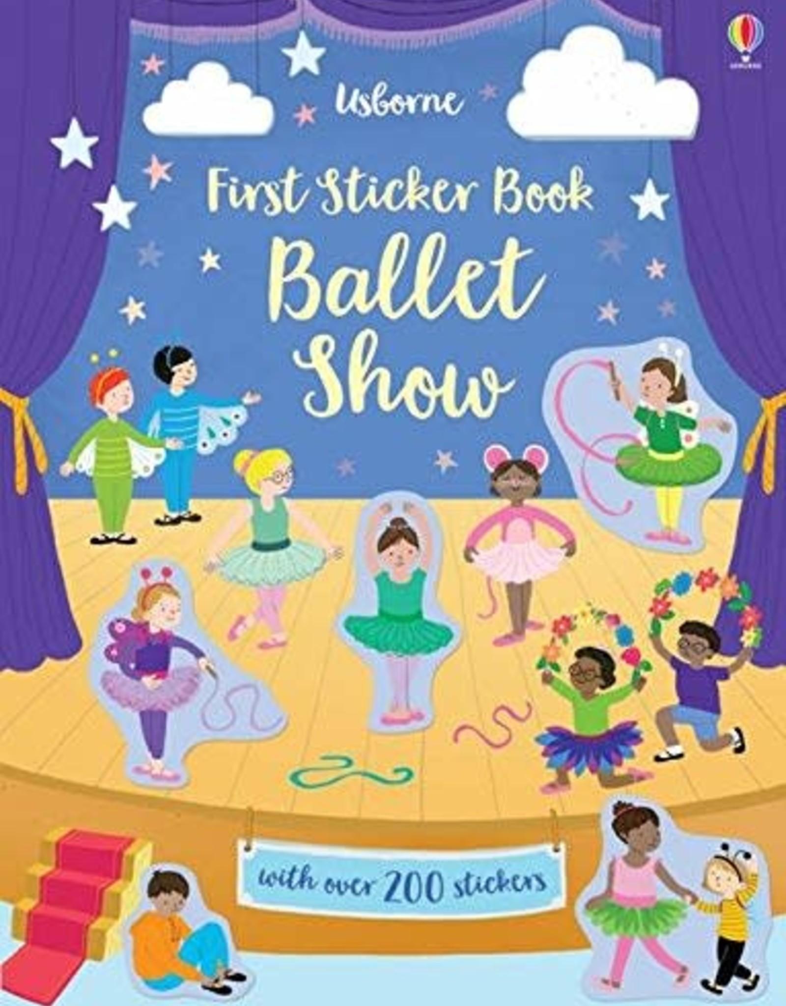 Usborne First Sticker Book: Ballet Show