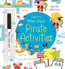 Usborne Wipe Clean: Pirate Activities