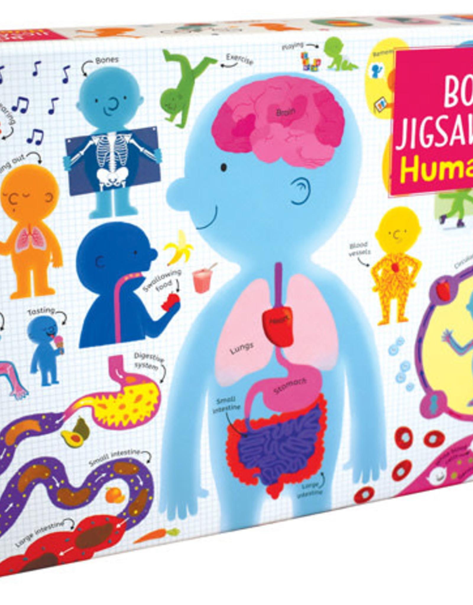 Usborne Book & Jigsaw Human Body