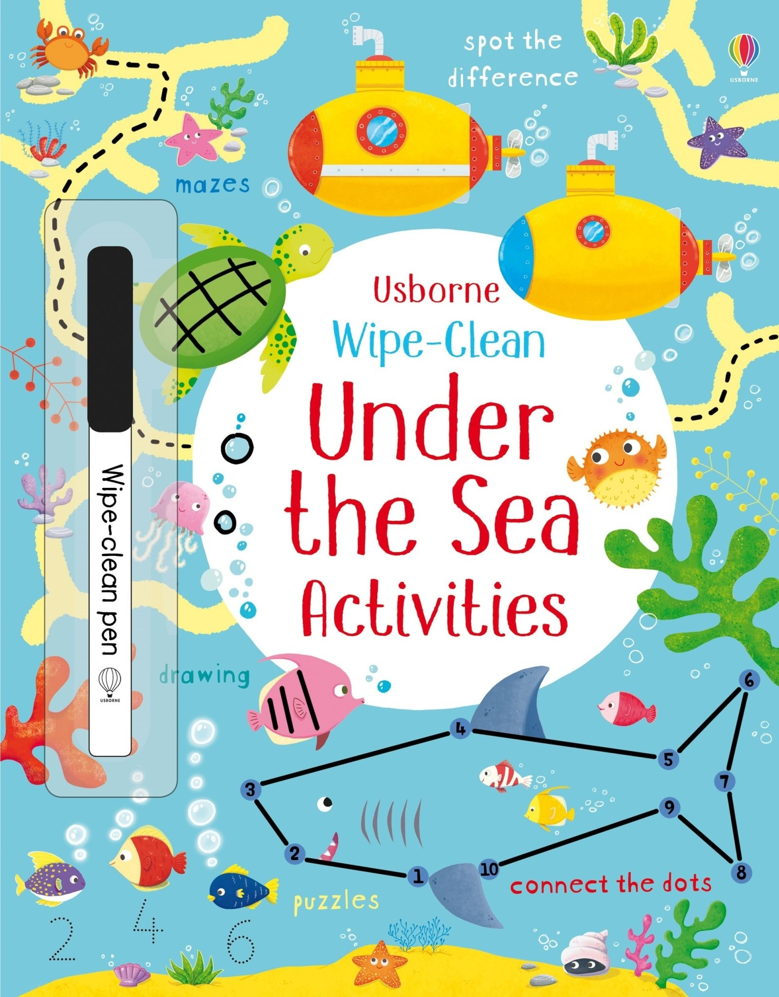 Usborne Wipe Clean Under the Sea Activities