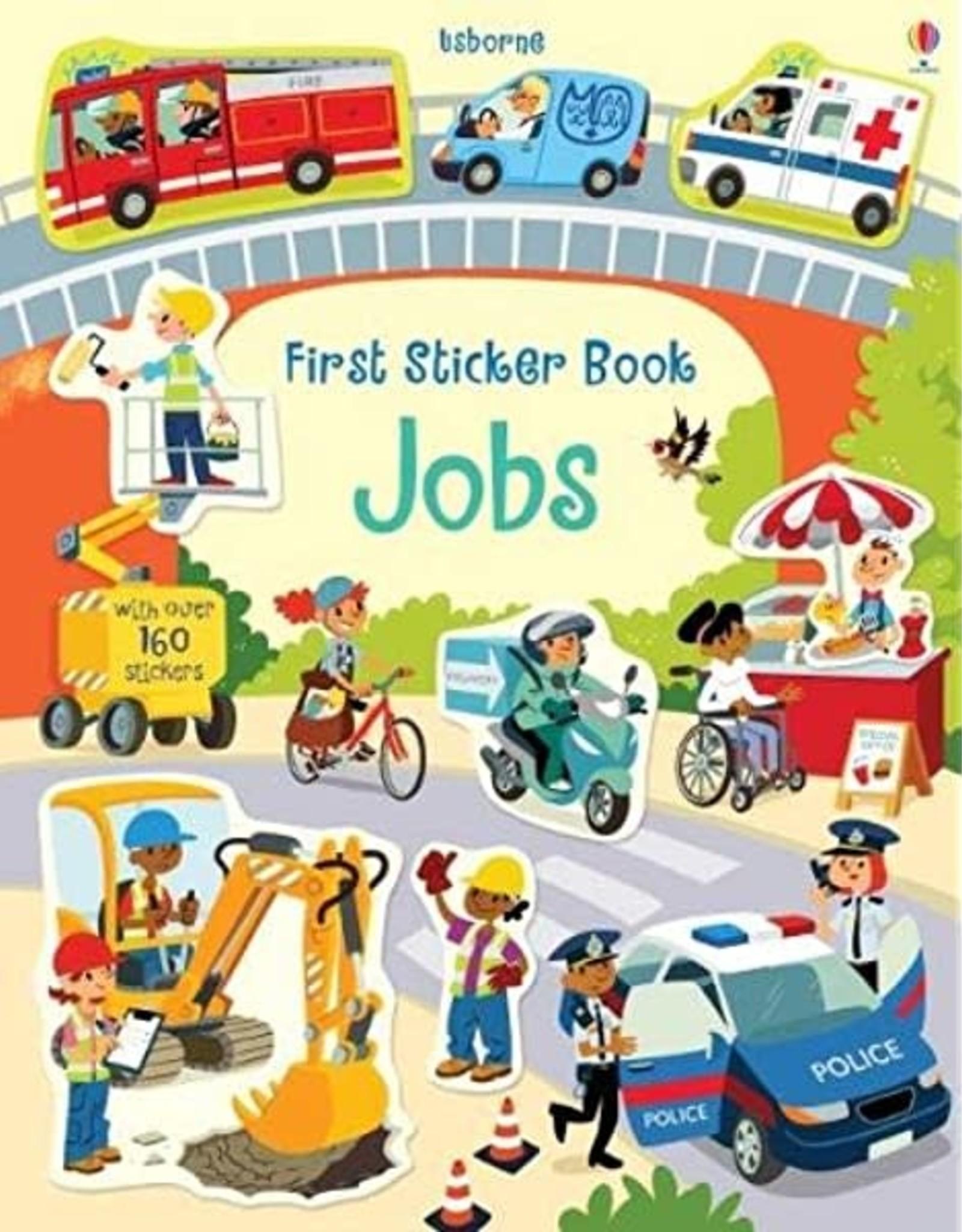 Usborne First Sticker Book: Jobs