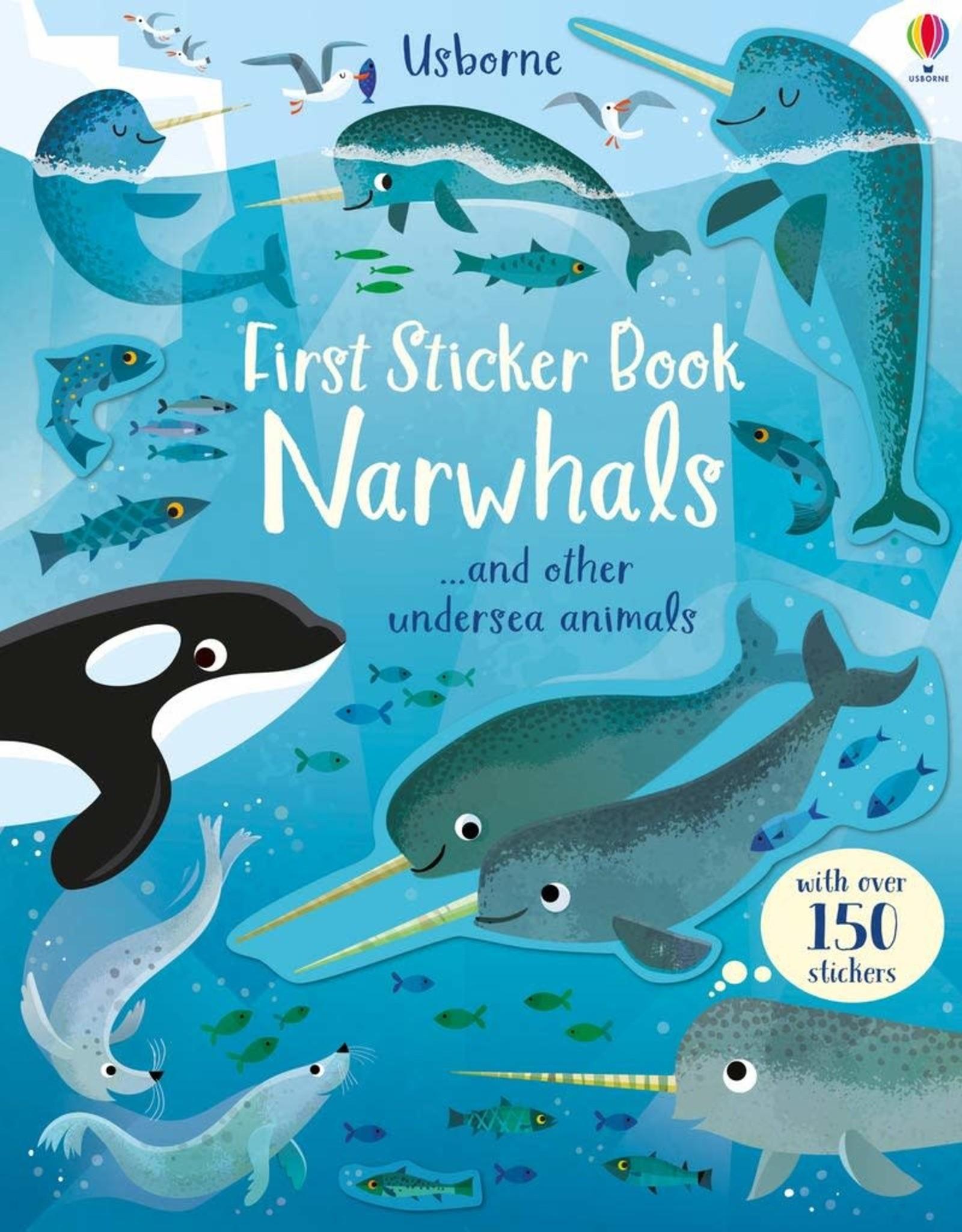 Usborne First Sticker Book: Narwhals