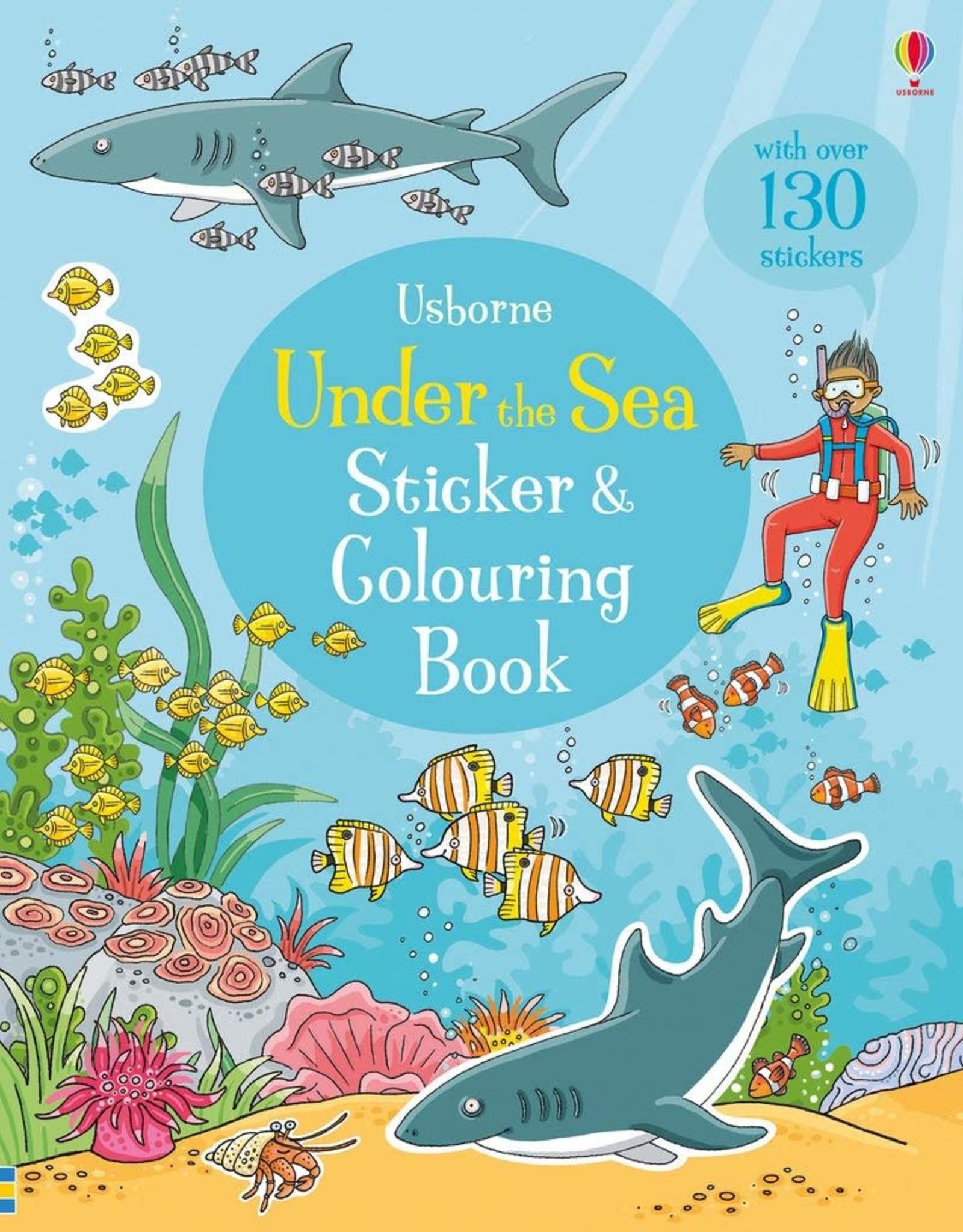 Usborne Sticker & Colouring Book: Under the Sea