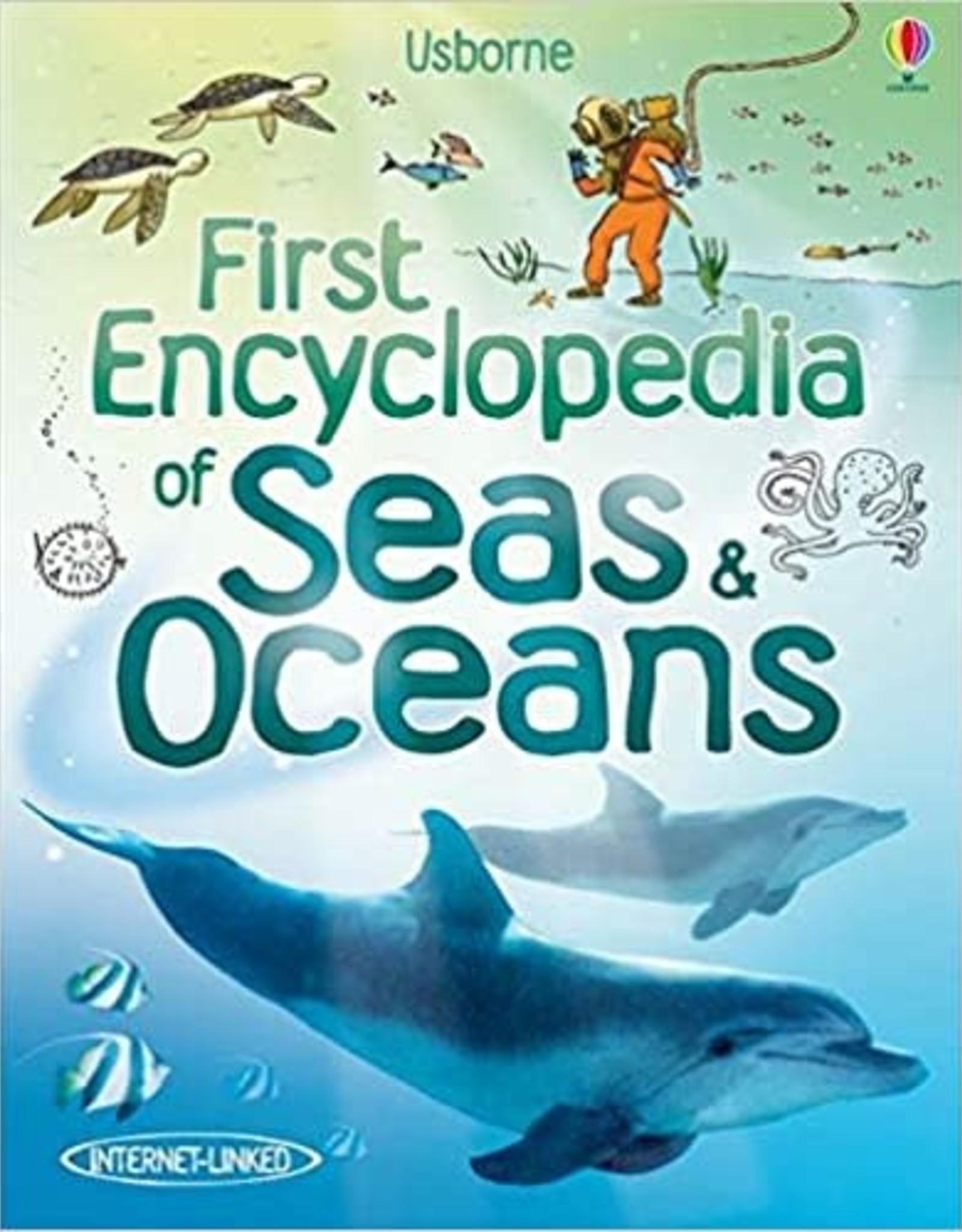 Usborne First Encyclopedia of Seas & Oceans