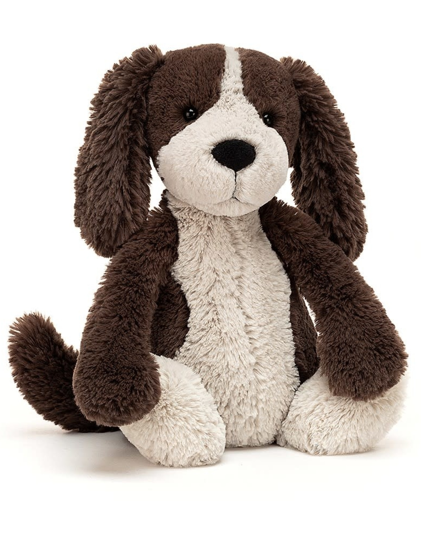 Jellycat Bashful Fudge Puppy, Medium