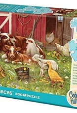 Cobble Hill Puzzles Barnyard Babies - 350 piece Family Puzzle