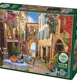 Cobble Hill Puzzles French Village 1000 Piece Puzzle