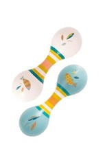 Moulin Roty Double Maracas - Cream