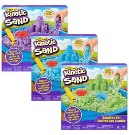 Kinetic Sand Kinetic Sand Sandbox Set