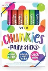 Ooly Chunkies Paint Sticks - Set of 12
