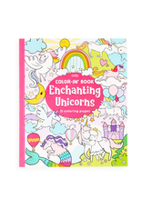 Ooly Enchanting Unicorns Colouring Book