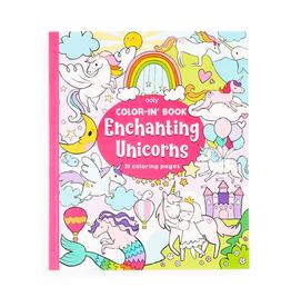 Ooly Enchanting Unicorns Colouring Book