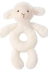 Jellycat Bashful Lamb Ring Rattle