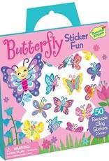 Peaceable Kingdom Reusable Sticker Tote - Butterflies