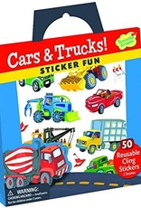 Peaceable Kingdom Reusable Sticker Tote - Cars & Trucks
