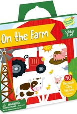 Peaceable Kingdom Reusable Sticker Tote - On the Farm