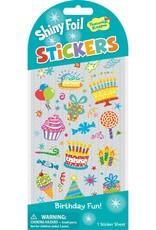 Peaceable Kingdom Birthday Icon Foil Stickers