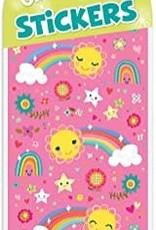 Peaceable Kingdom Glitter Rainbows & Stars Stickers