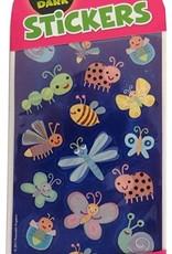 Peaceable Kingdom Glowing Cute Glitter Bugs Stickers