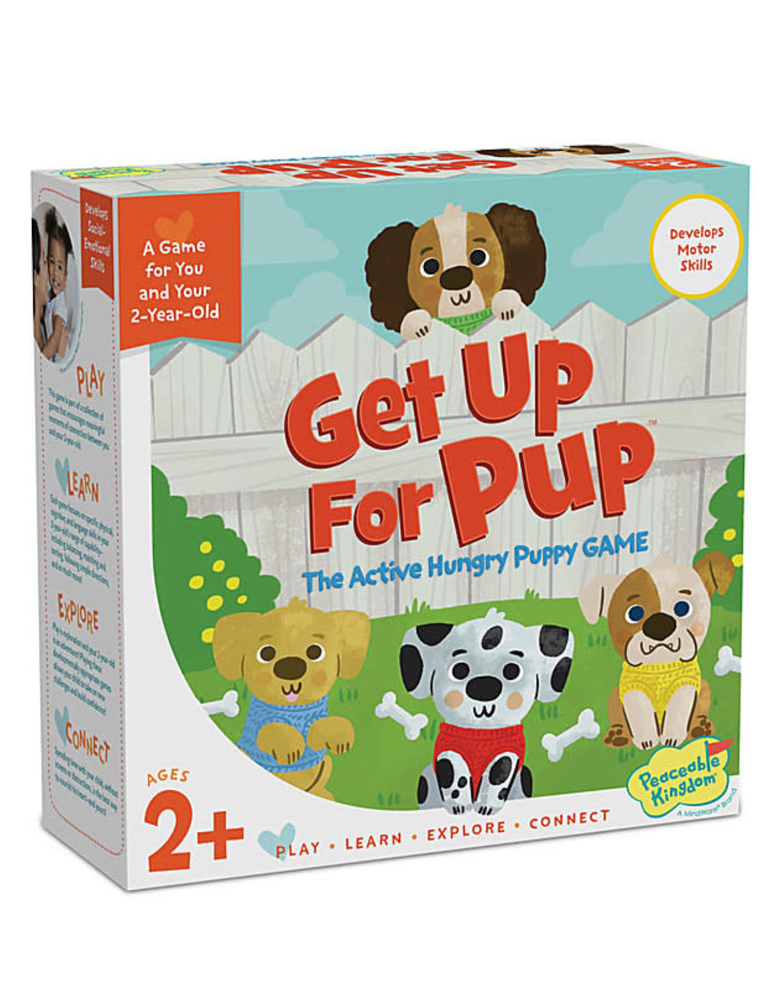 Peaceable Kingdom Peaceable Kingdom Get Up For Pup Game