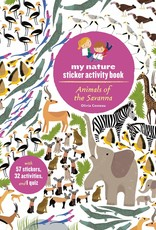 My Nature Sticker Activity Book - Animals of the Savannah