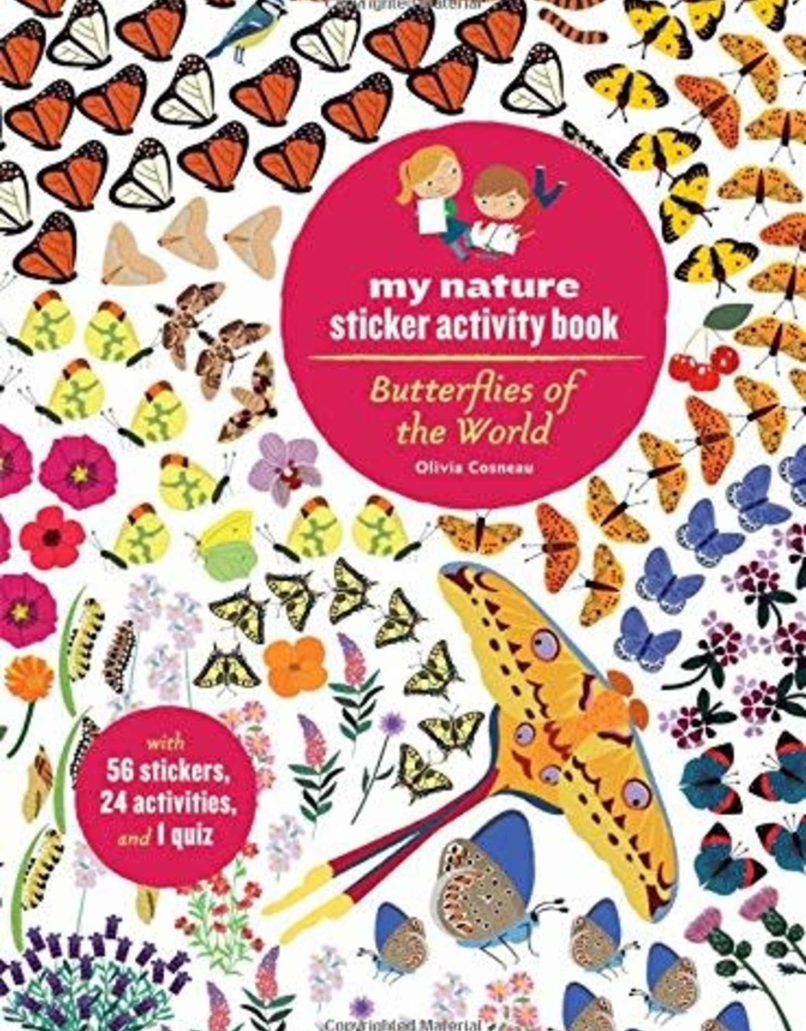 My Nature Sticker Activity Book - Butterflies of the World