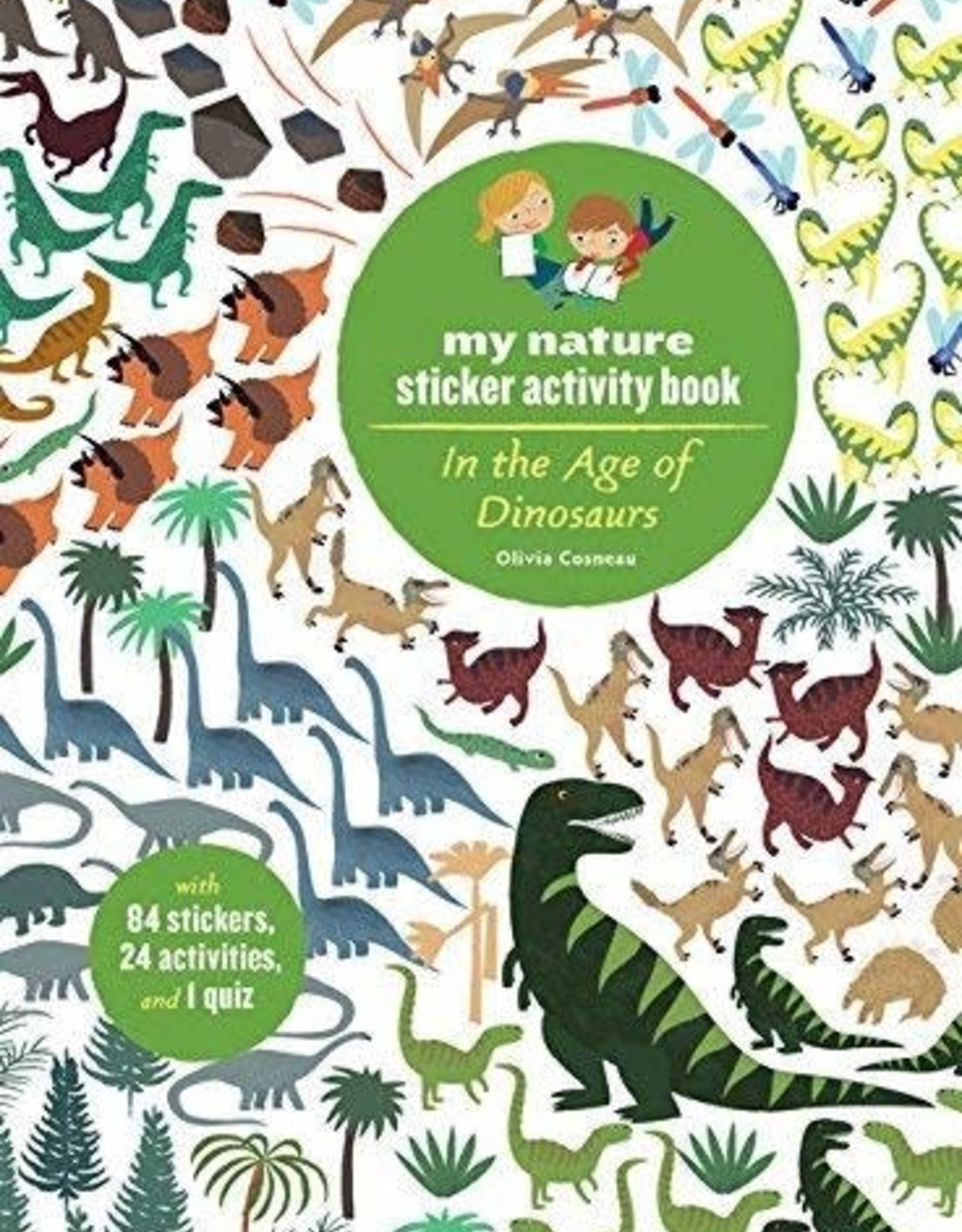 My Nature Sticker Activity Book - In the Age of Dinosaurs