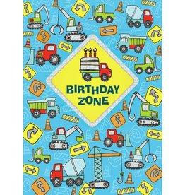 Peaceable Kingdom Birthday Zone Foil Birthday Card