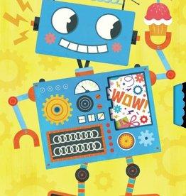 Peaceable Kingdom Robot Spinner Birthday Card