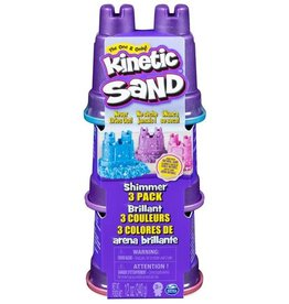 Kinetic Sand Kinetic Sand Single Shimmer 3 Pack