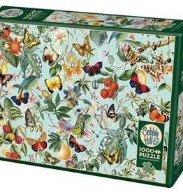 Cobble Hill Puzzles Fruit and Flutterbies - 1000 pc Puzzle