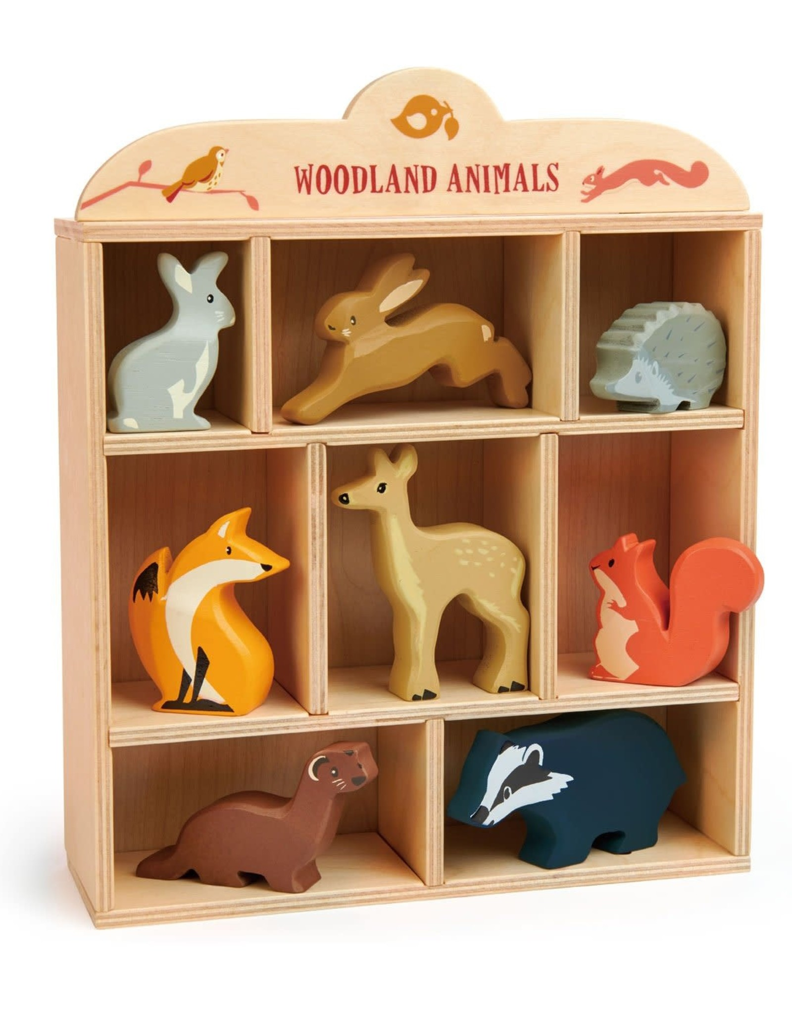 Tender Leaf Toys Wooden Animal Collection - Woodland Animals