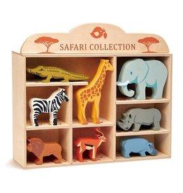 Tender Leaf Toys Wooden Animal Collection - Safari Animals