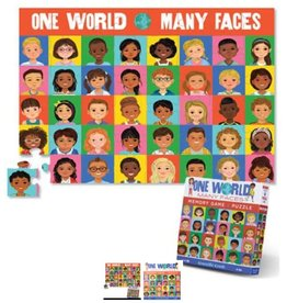 Crocodile Creek One World, Many Faces Memory Game & Puzzle